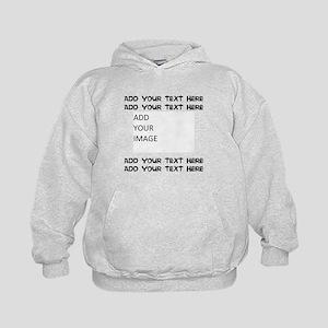 Custom Text and Image Sweatshirt