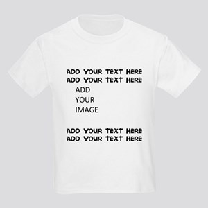 Custom Text and Image T-Shirt