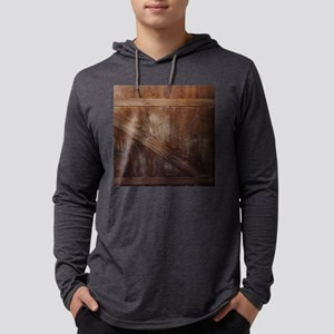 primitive farmhouse barn wood Long Sleeve T-Shirt