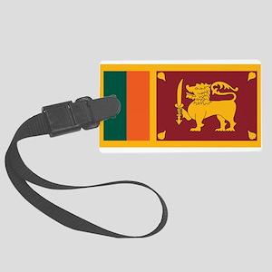 Sri Lanka Luggage Tag