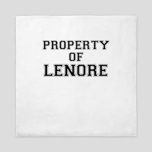 Property of LENORE Queen Duvet