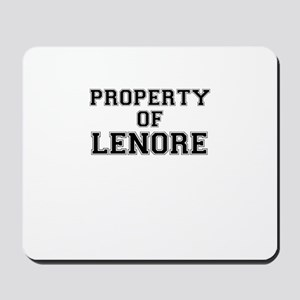 Property of LENORE Mousepad