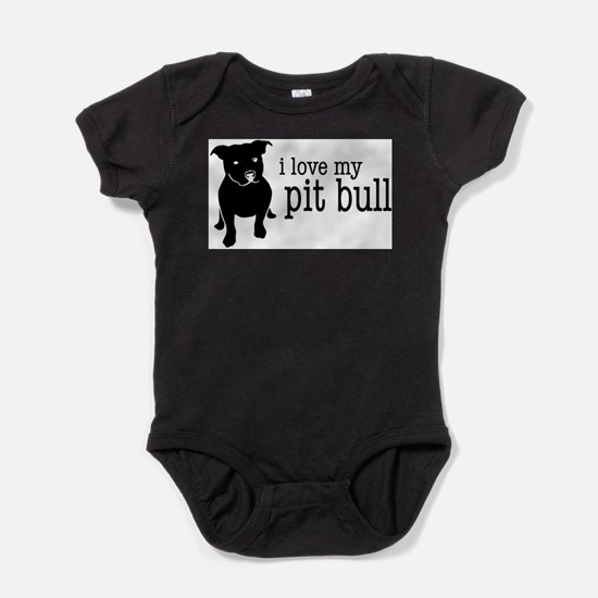Cute Rescue dog Baby Bodysuit