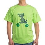 Pop Culture Green T-Shirt