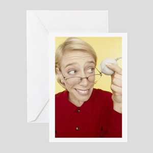 Web Cam-2 Greeting Cards (Pk of 10)