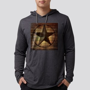 barn wood texas star Long Sleeve T-Shirt