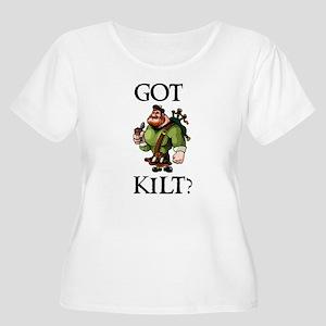 GOT_KILT_WHT Plus Size T-Shirt