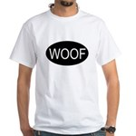 Woof White T-Shirt