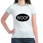 Woof Jr. Ringer T-Shirt