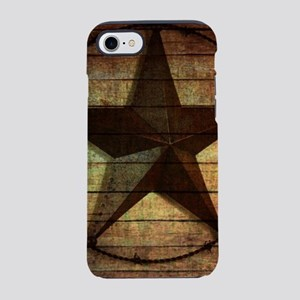 barn wood texas star iPhone 8/7 Tough Case