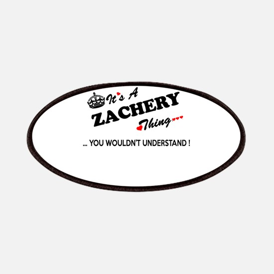 ZACHERY thing, you wouldn't understand Patch