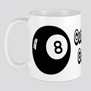 Magic 8 Ball Outlook Good Mug