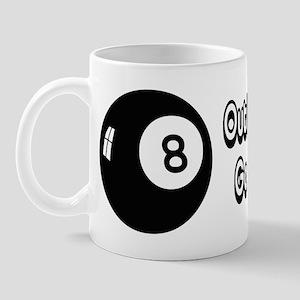 Magic 8 Ball Outlook Good Mug