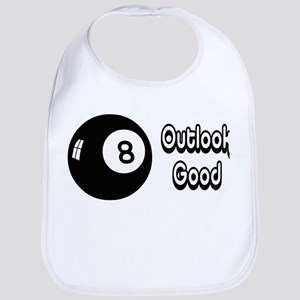 Magic 8 Ball Outlook Good Bib