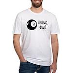 Magic 8 Ball Outlook Good Fitted T-Shirt