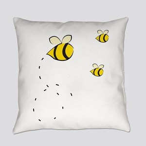 Honey Bee Everyday Pillow