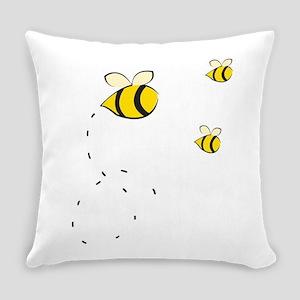 Honey Bee Everyday Pillow