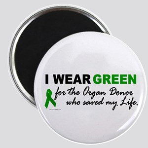 I Wear Green (Saved My Life) Magnet