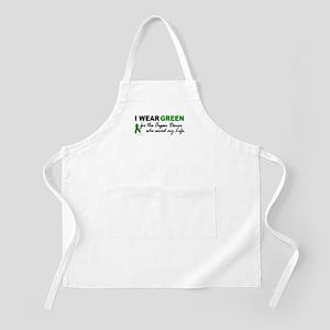 I Wear Green (Saved My Life) BBQ Apron