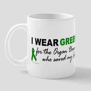I Wear Green (Saved My Life) Mug