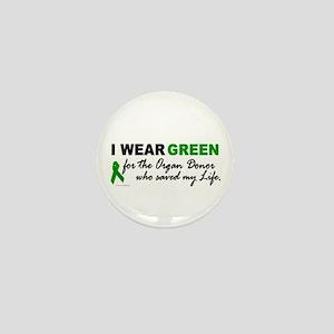 I Wear Green (Saved My Life) Mini Button