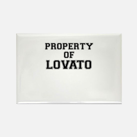 Property of LOVATO Magnets