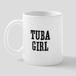 Tuba girl Mug