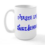 I Taste Like Snozberries Large Mug