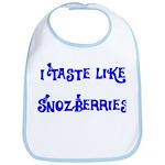 I Taste Like Snozberries Bib