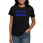 I Taste Like Snozberries Women's Dark T-Shirt