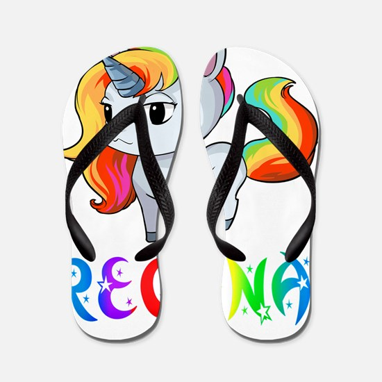 Cute Regina Flip Flops