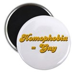 Homophobia = Gay Magnet