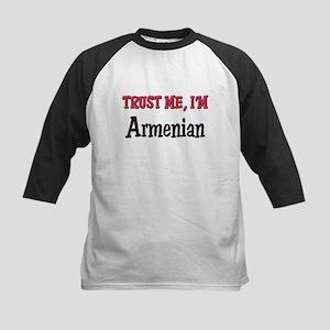 Trusty Me I'm Armenian Kids Baseball Jersey