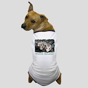 Opossum Rehabber Dog T-Shirt
