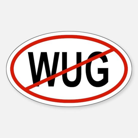 WUG Oval Decal
