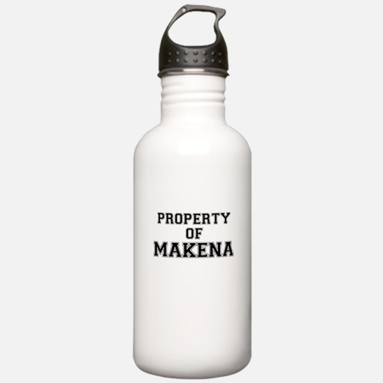 Property of MAKENA Sports Water Bottle