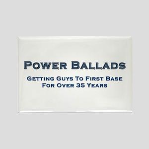 Power Ballad Power Rectangle Magnet