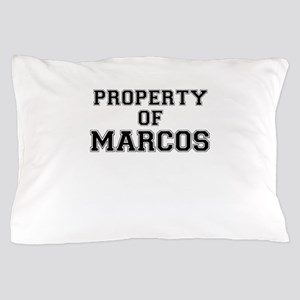 Property of MARCOS Pillow Case