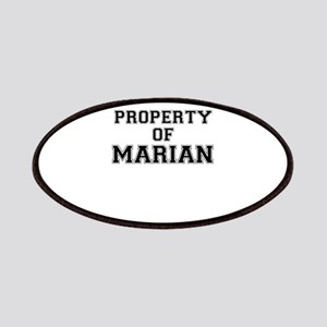 Property of MARIAN Patch