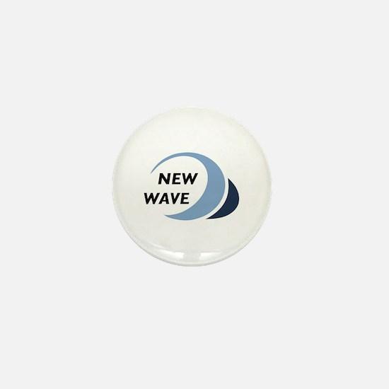 New Wave Mini Button