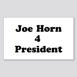 Joe Horn 4 President Rectangle Sticker