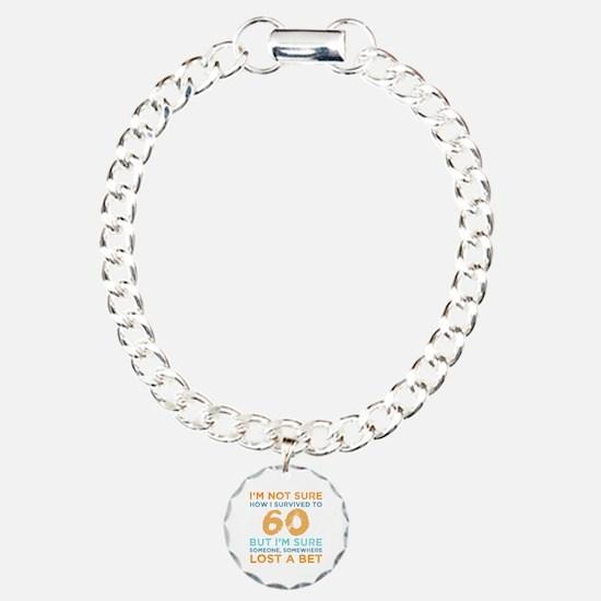 Unique Turning 60 Bracelet