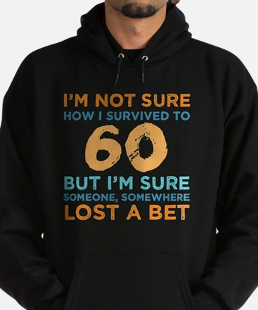 Cool 60th birthday Hoodie (dark)