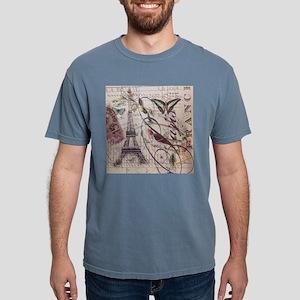 butterfly vintage robin paris botanical ar T-Shirt