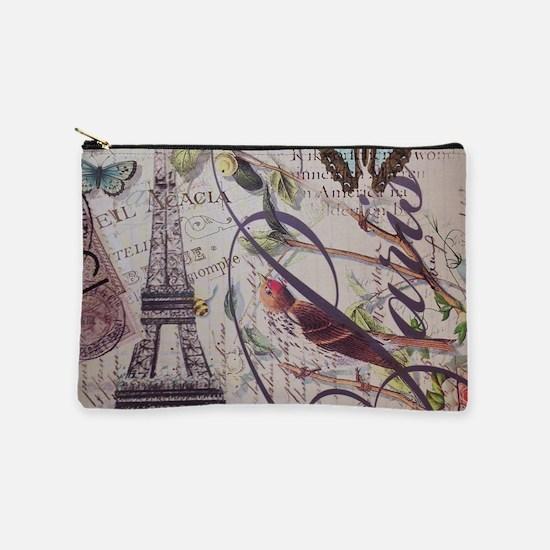 french botanical vintage paris Makeup Bag