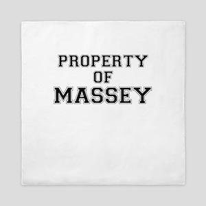 Property of MASSEY Queen Duvet