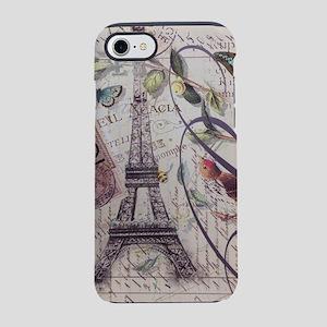 french botanical vintage par iPhone 8/7 Tough Case