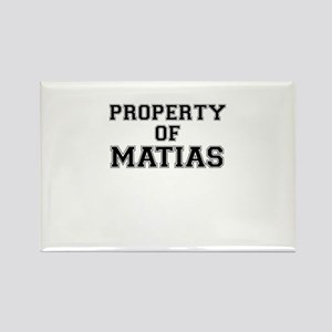 Property of MATIAS Magnets