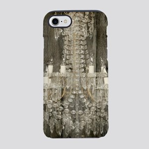 shabby chic rustic chandelie iPhone 8/7 Tough Case