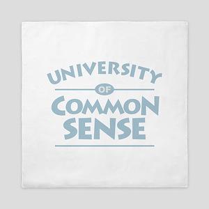 Common Sense Queen Duvet